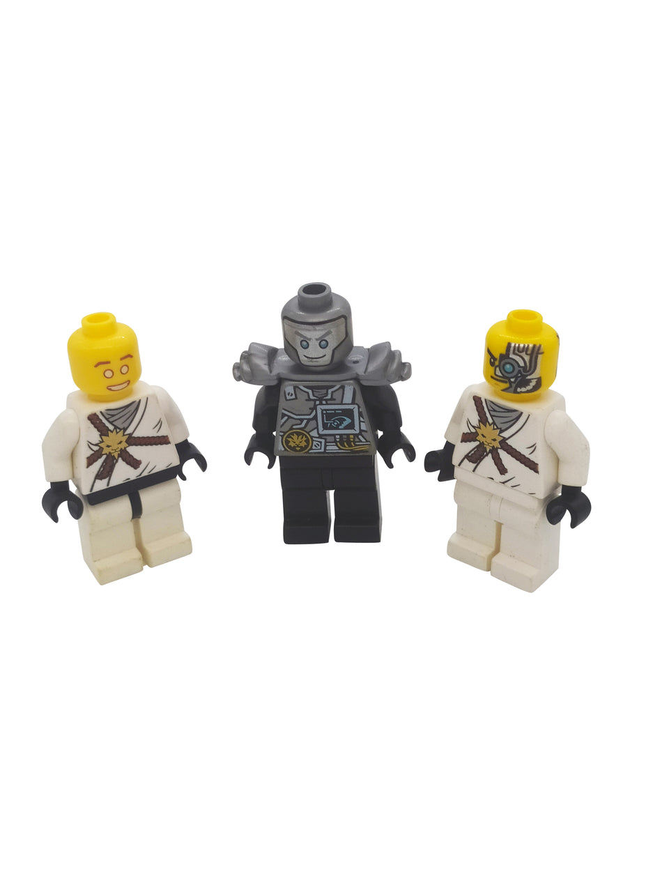 lot of 3 lego ninjago zain minifigures