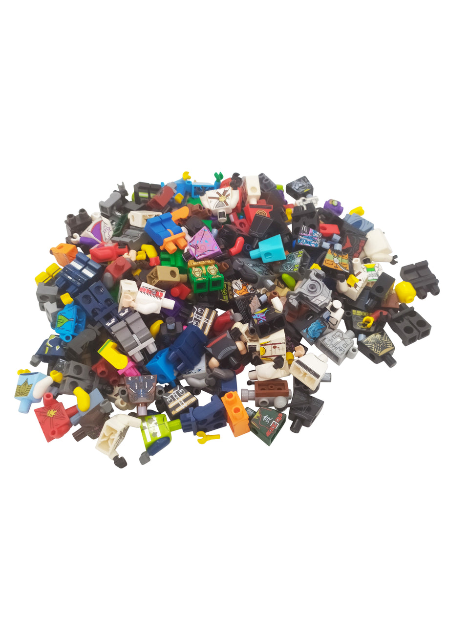 big lot of lego Minifigures parts - torso, legs