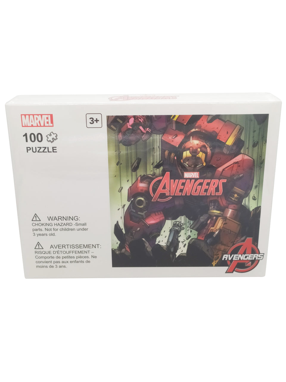 marvel puzzle 100 piece - avengers  - iron man