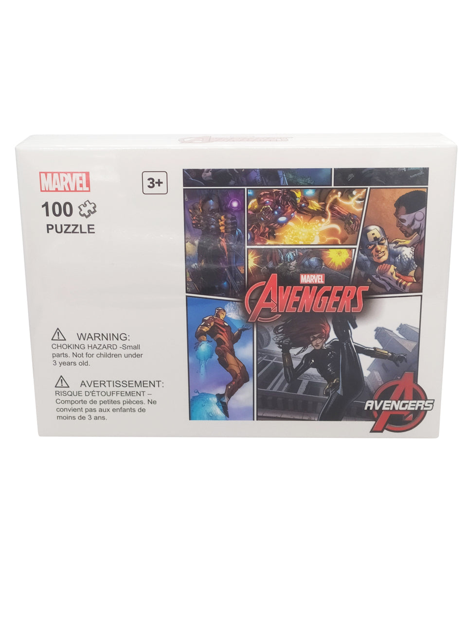 marvel puzzle 100 piece - avengers - action scene #2