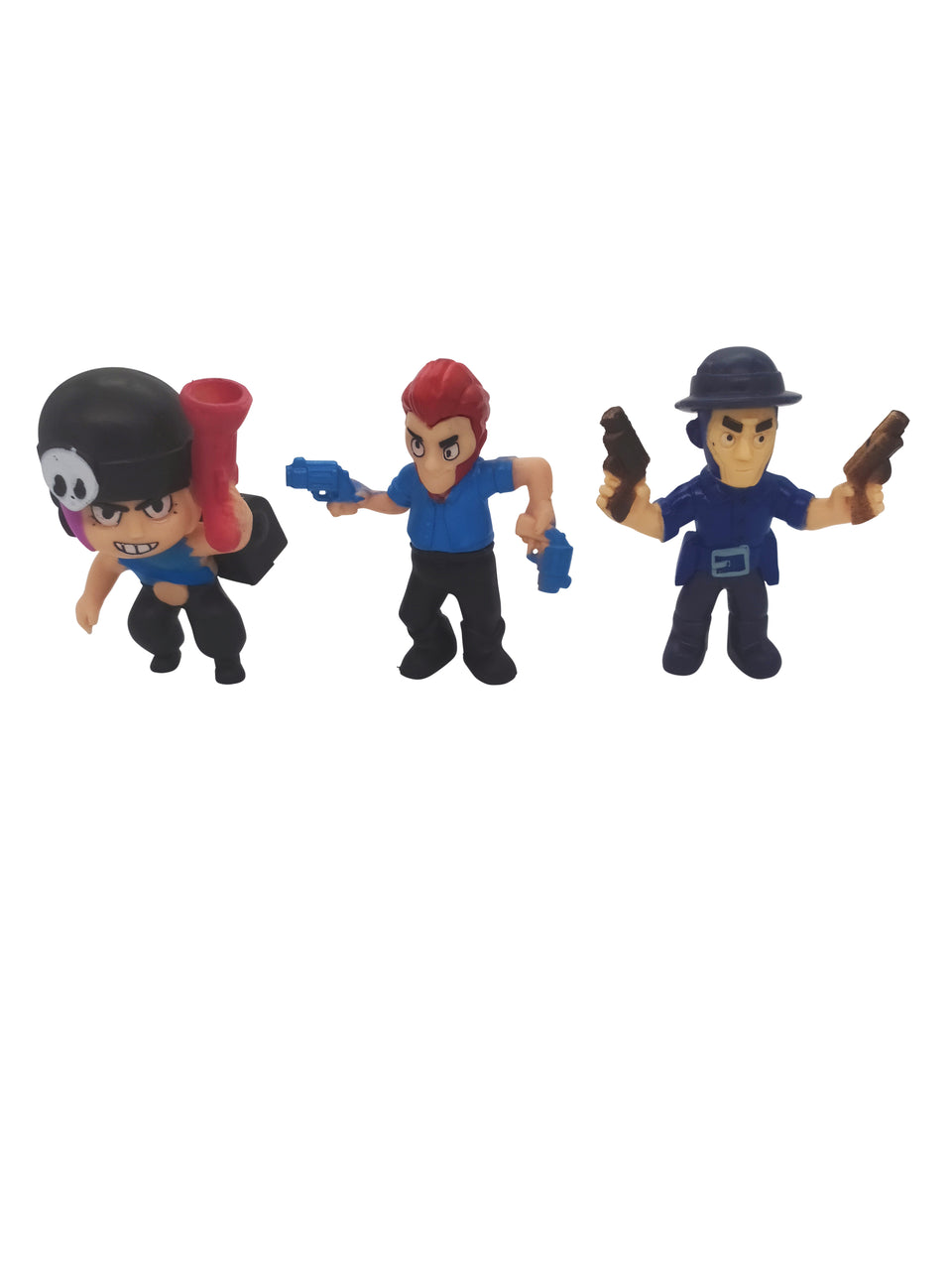 3 lot of figures from brawl stars - included : Colt , Penny