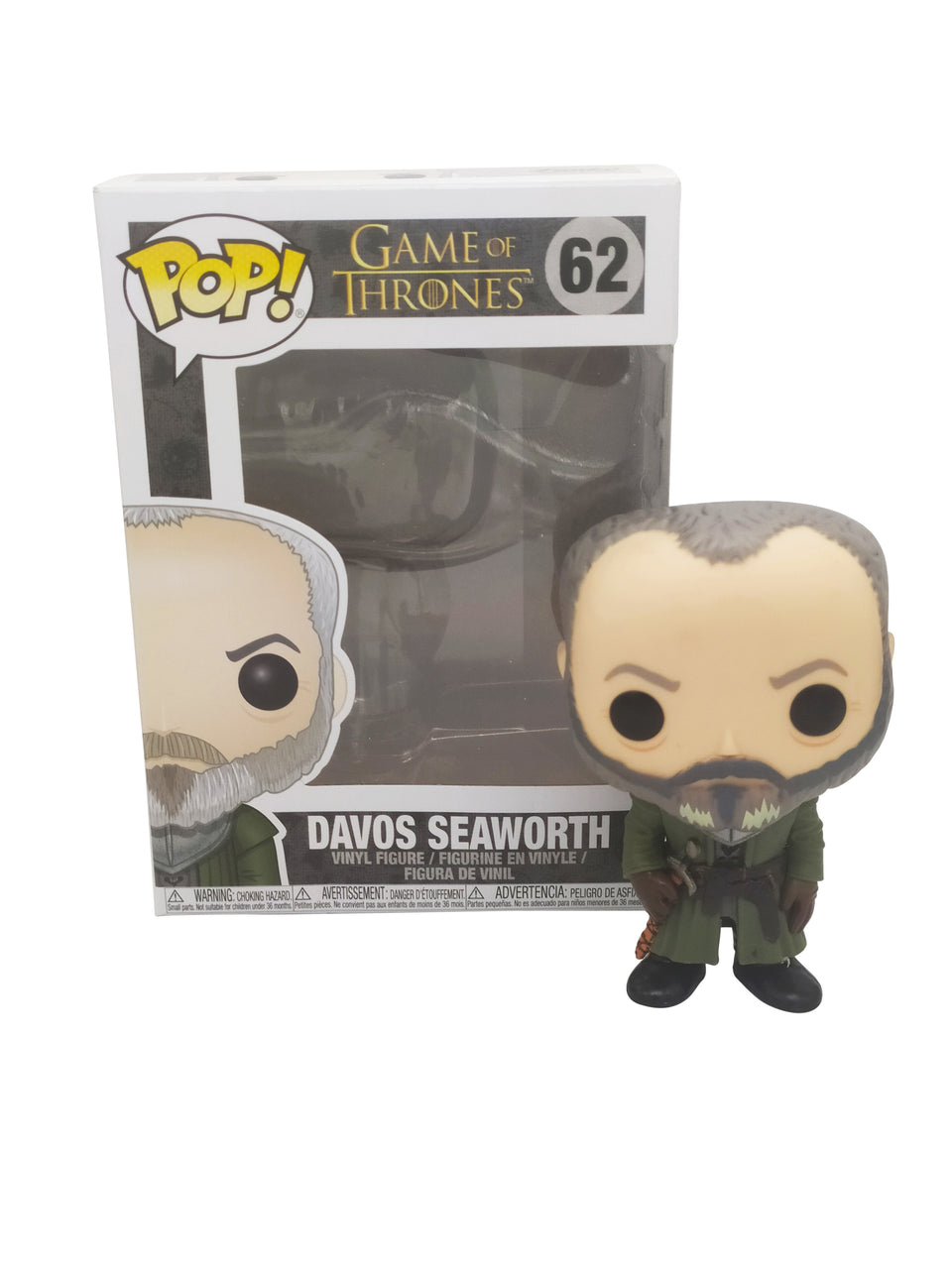 FUNKO POP GAME OF THRONES , DAVOS SEAWORTH