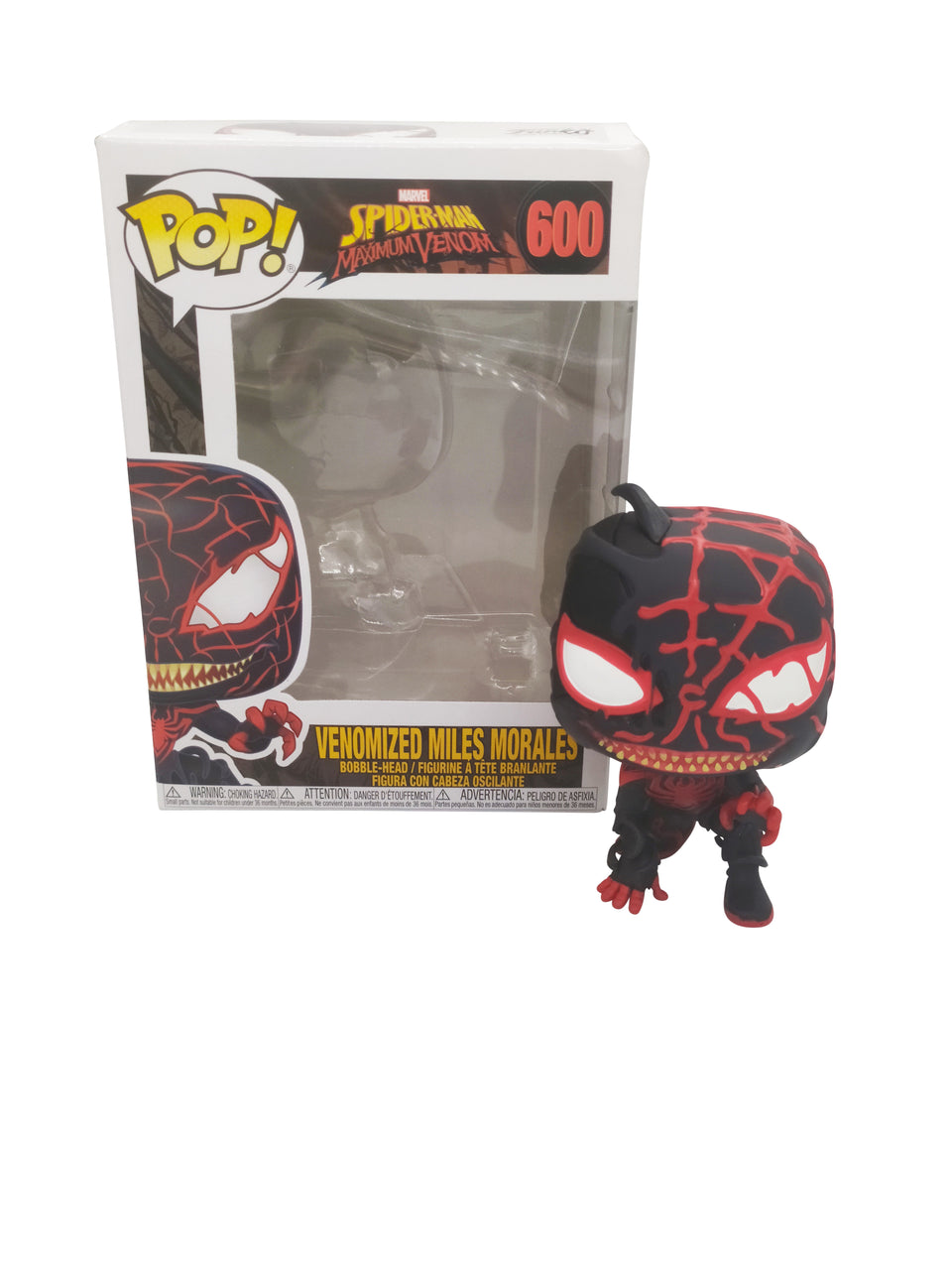 FUNKO POP SPIDERMAN VENOMIZED MILES MORALES