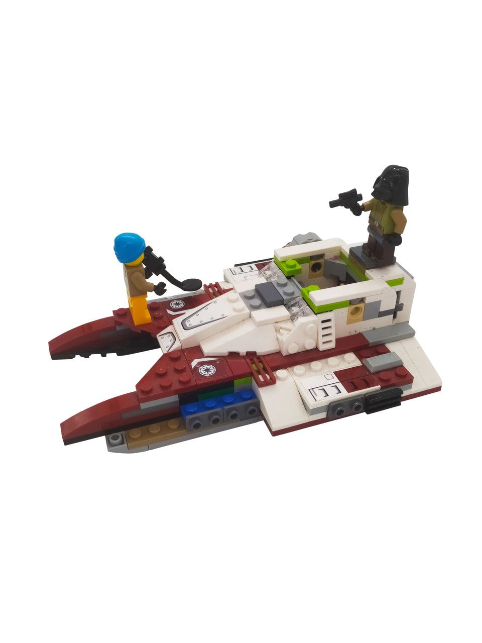 Lego Scene - Space Ship with accessories