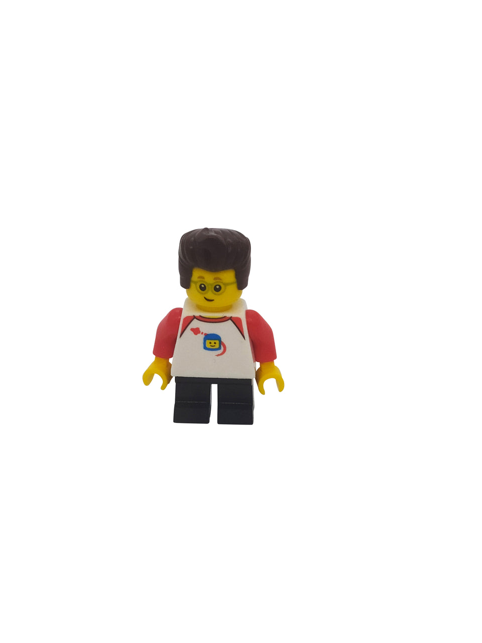 Little boy with cool hair and glasses - Lego