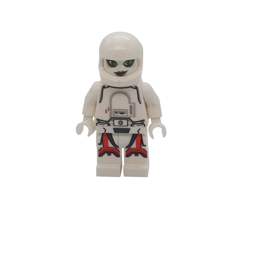 A very special character with a white helmet - Lego