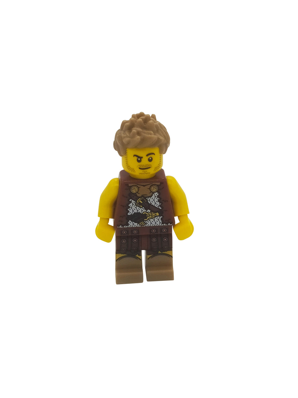 A cave man with crazy hair - Lego