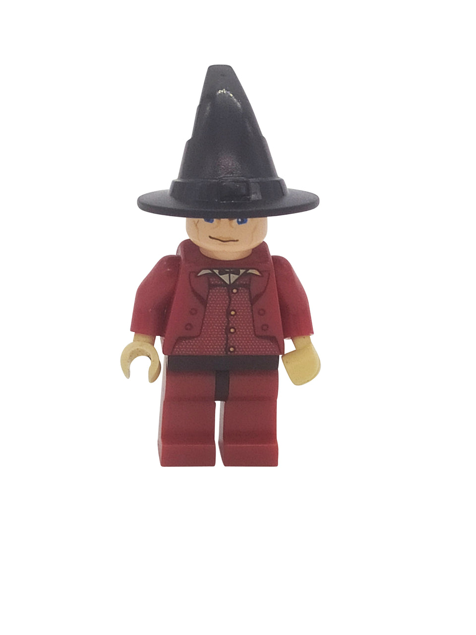 Businessman figure with a wizard's hat - Lego