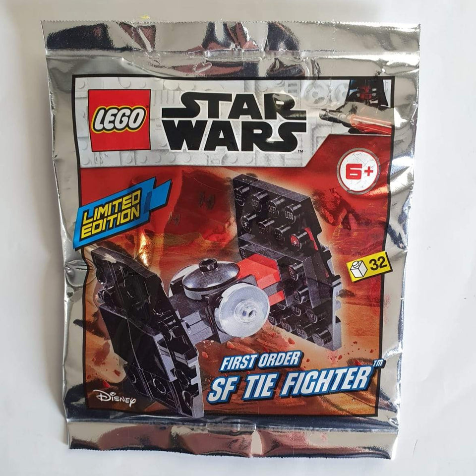 LEGO STAR WARS FIRST ORDER SF TIE FIGHTER POLYBAG