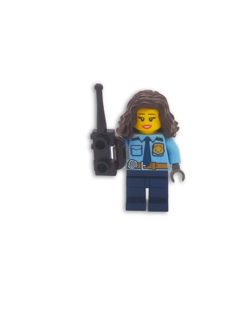 Lego Policewoman with accessories