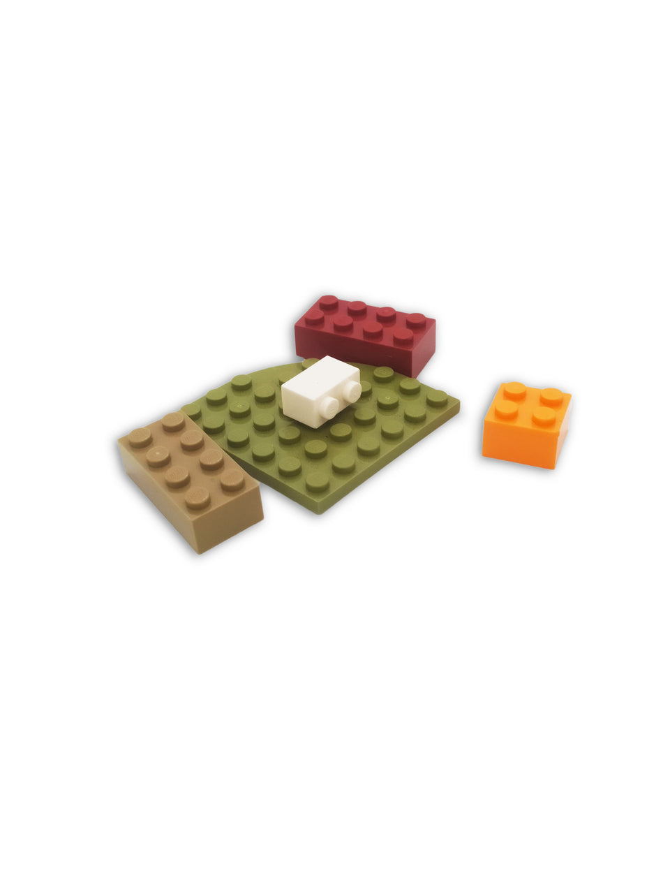 5 Color Mix Lego Bag