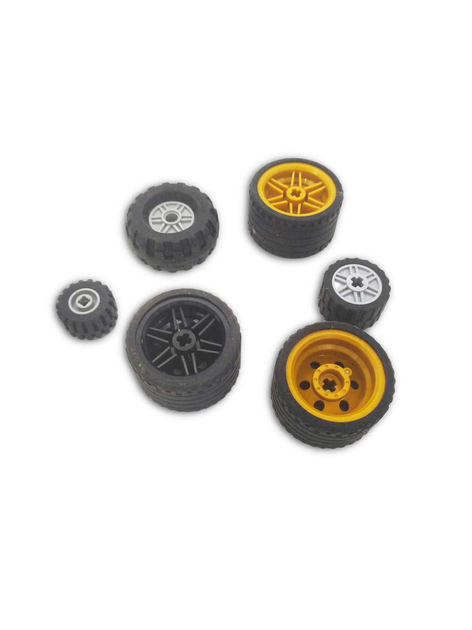 15 Lego Wheels Mix