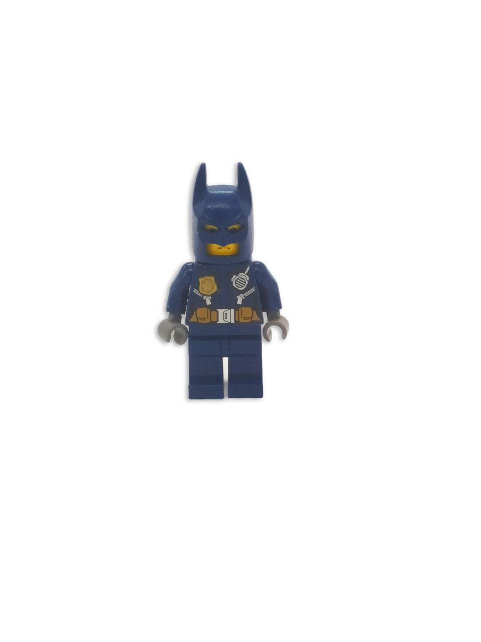Lego Policeman with a Batman Mask