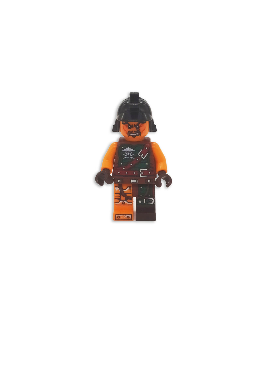 Scary Lego Warrior with accessories