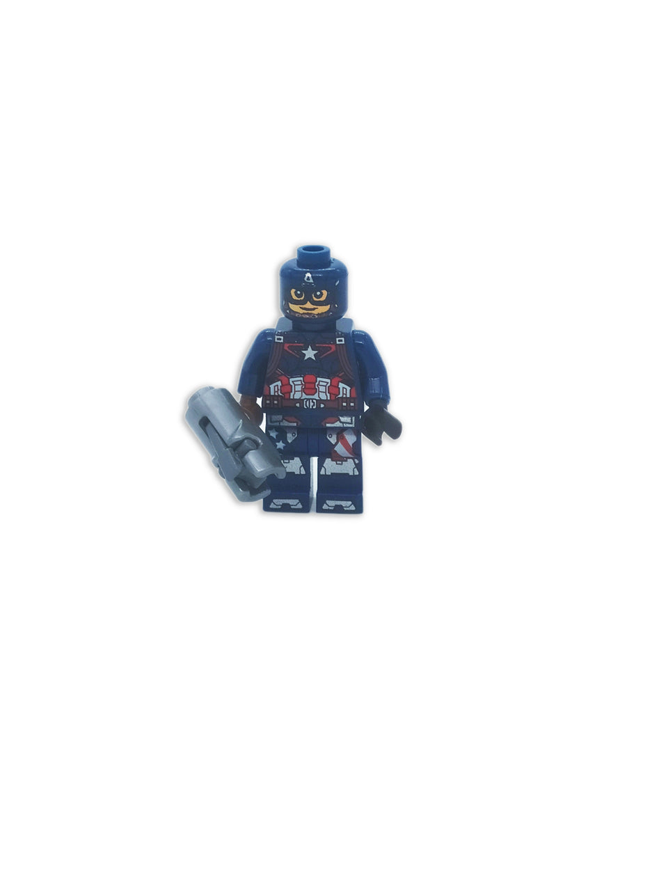Lego Captain America with accessories