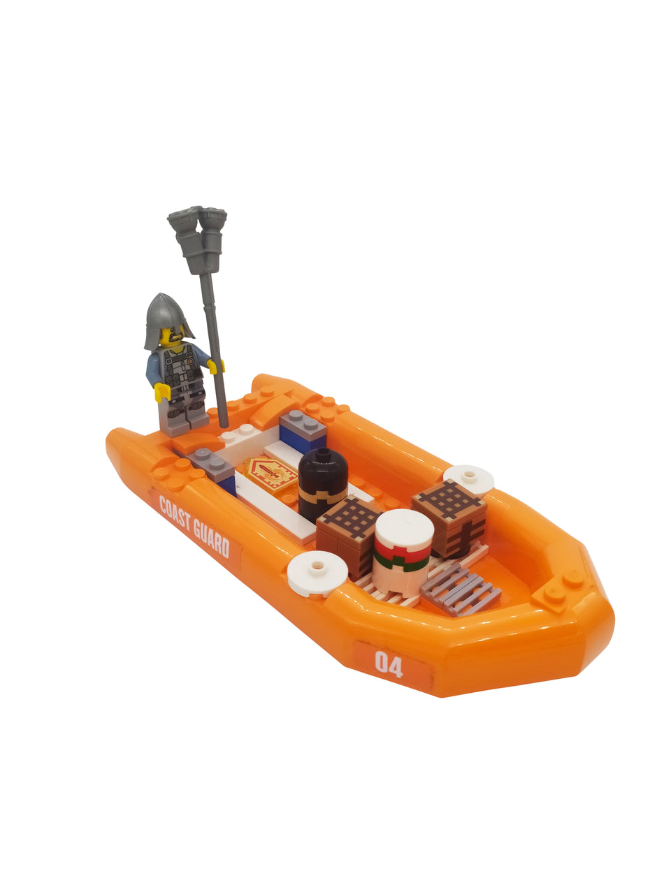 Lego Scene- Boat with treasures