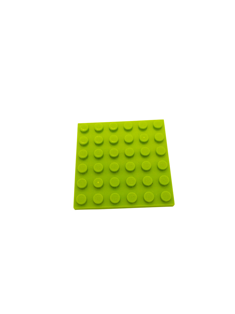 Light green 6 * 6 - Lego surface