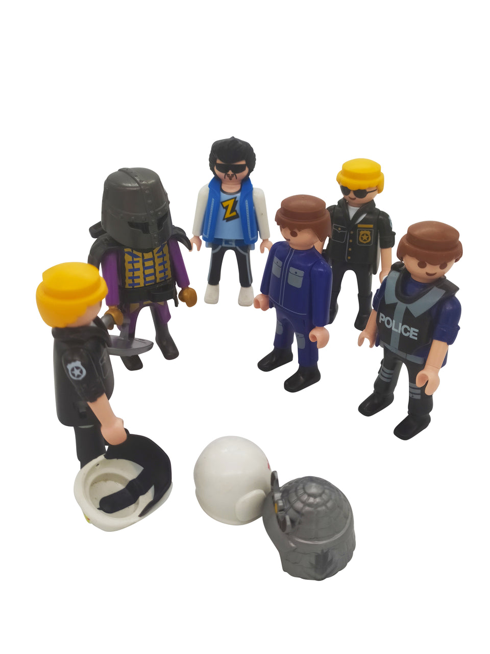 playmobil figures mix of 5 with access