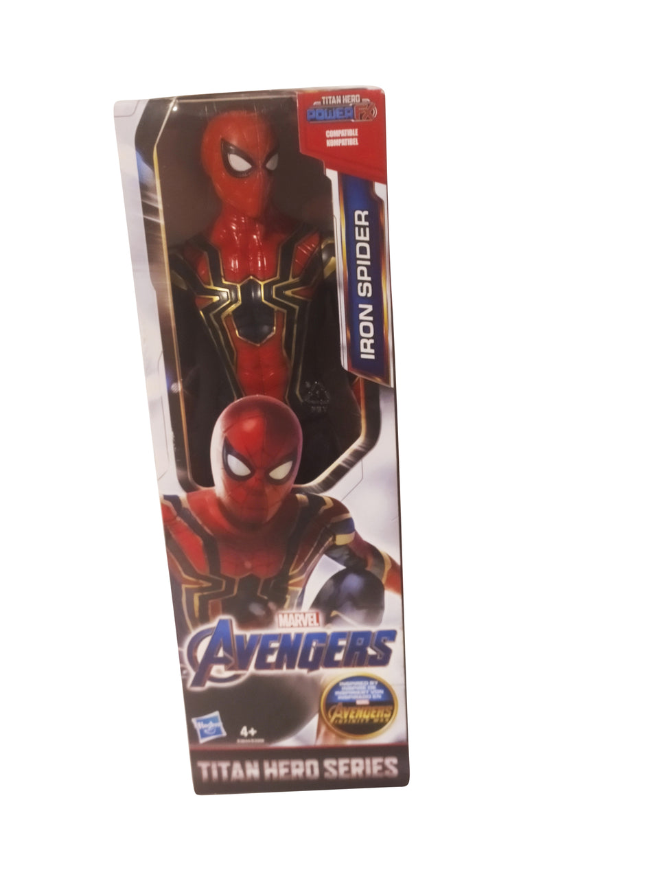 marvel avengers iron spider figure