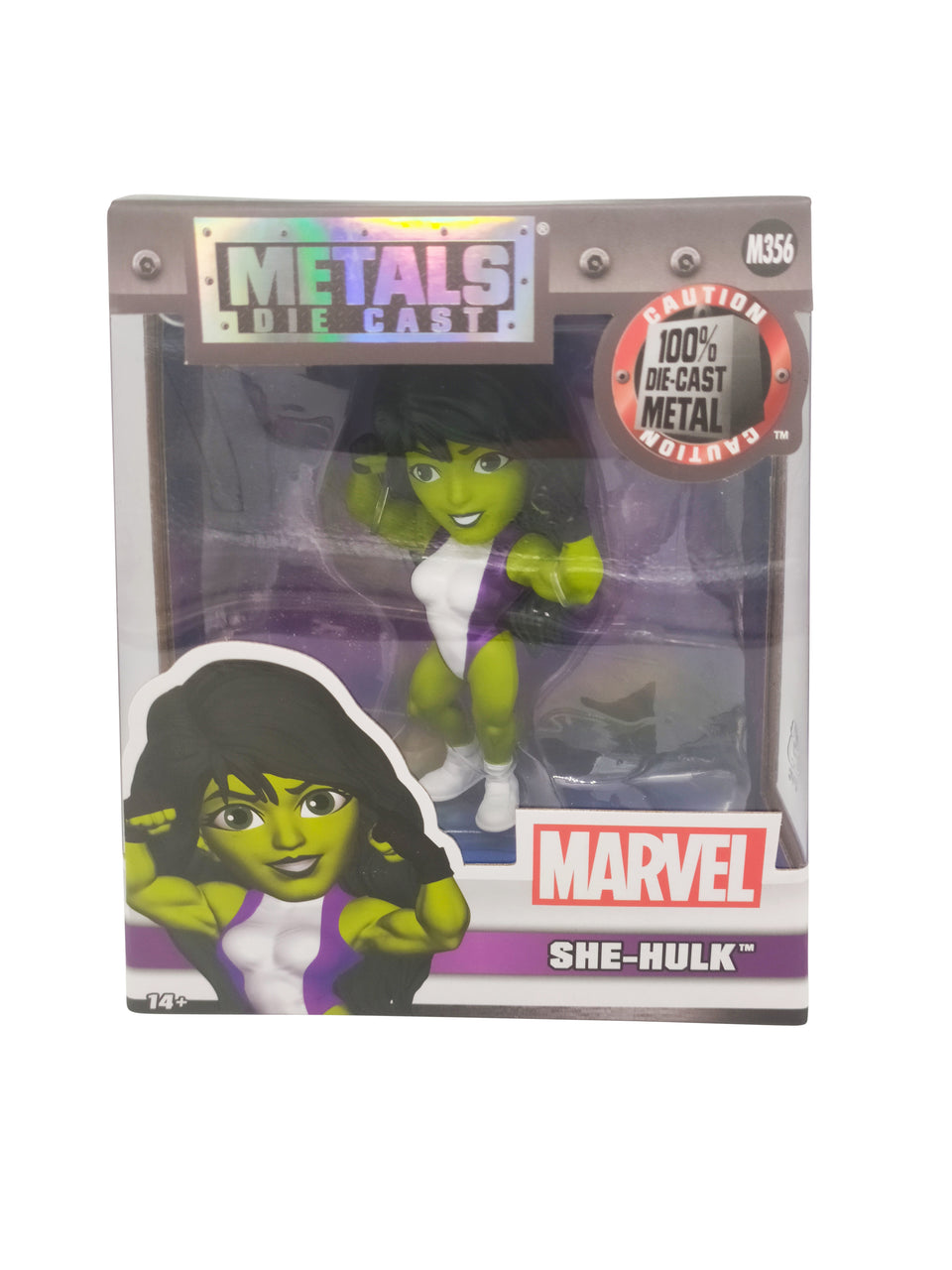 marvel she-hulk figure  - metals die cast