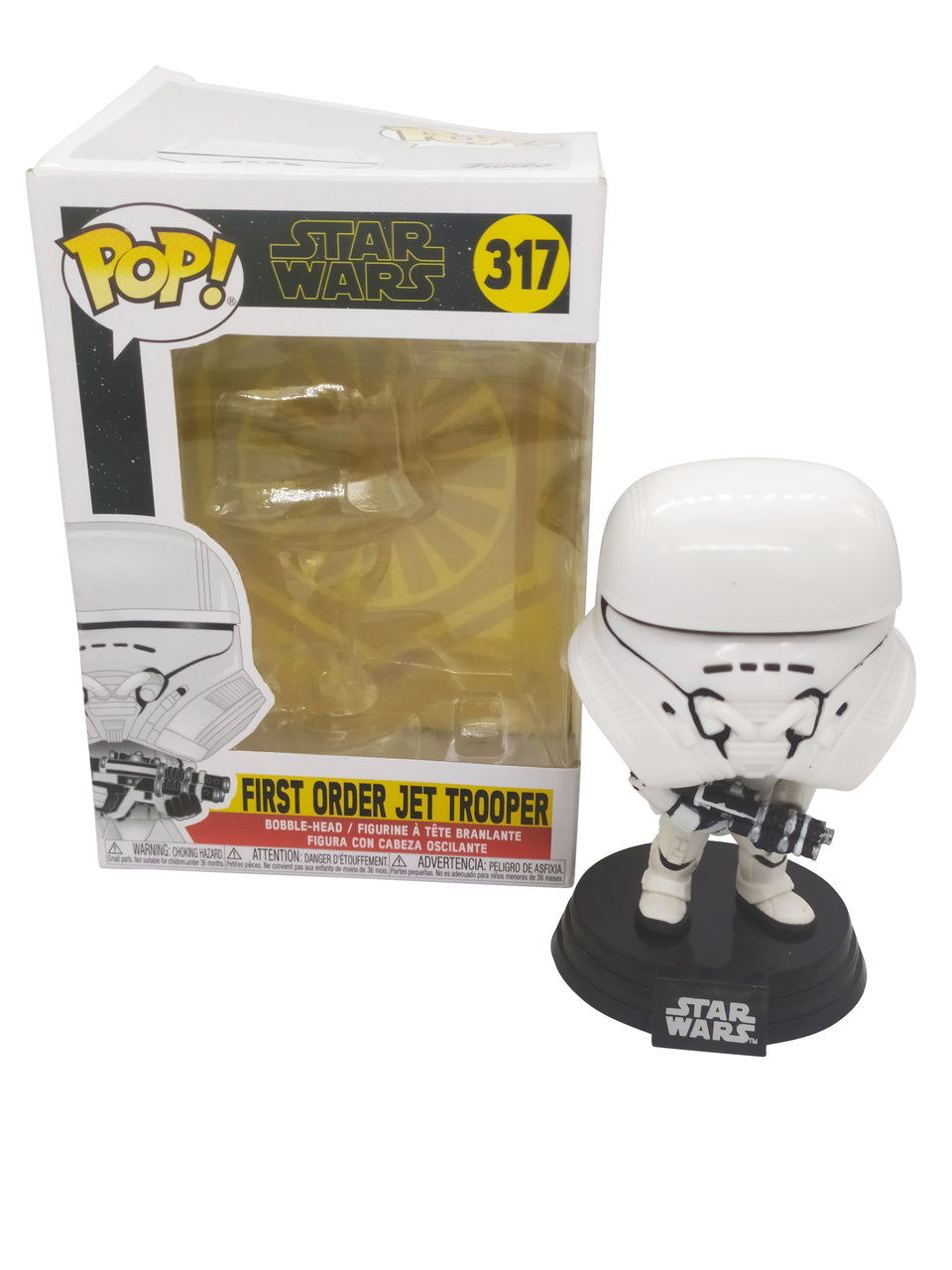 funko pop star wars first order jet trooper( 317 )