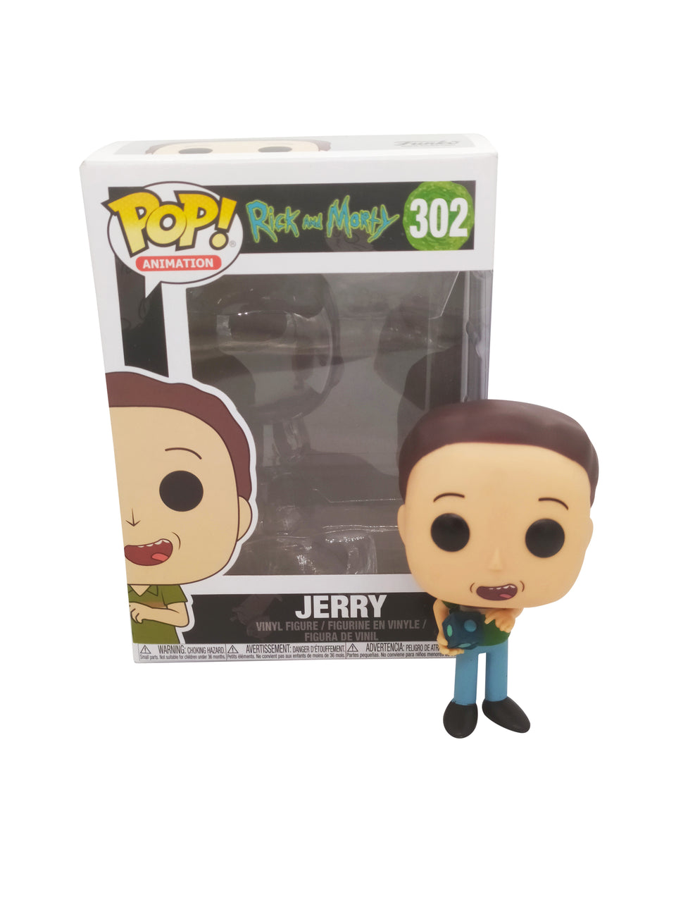 funko pop rick and morty , jerry