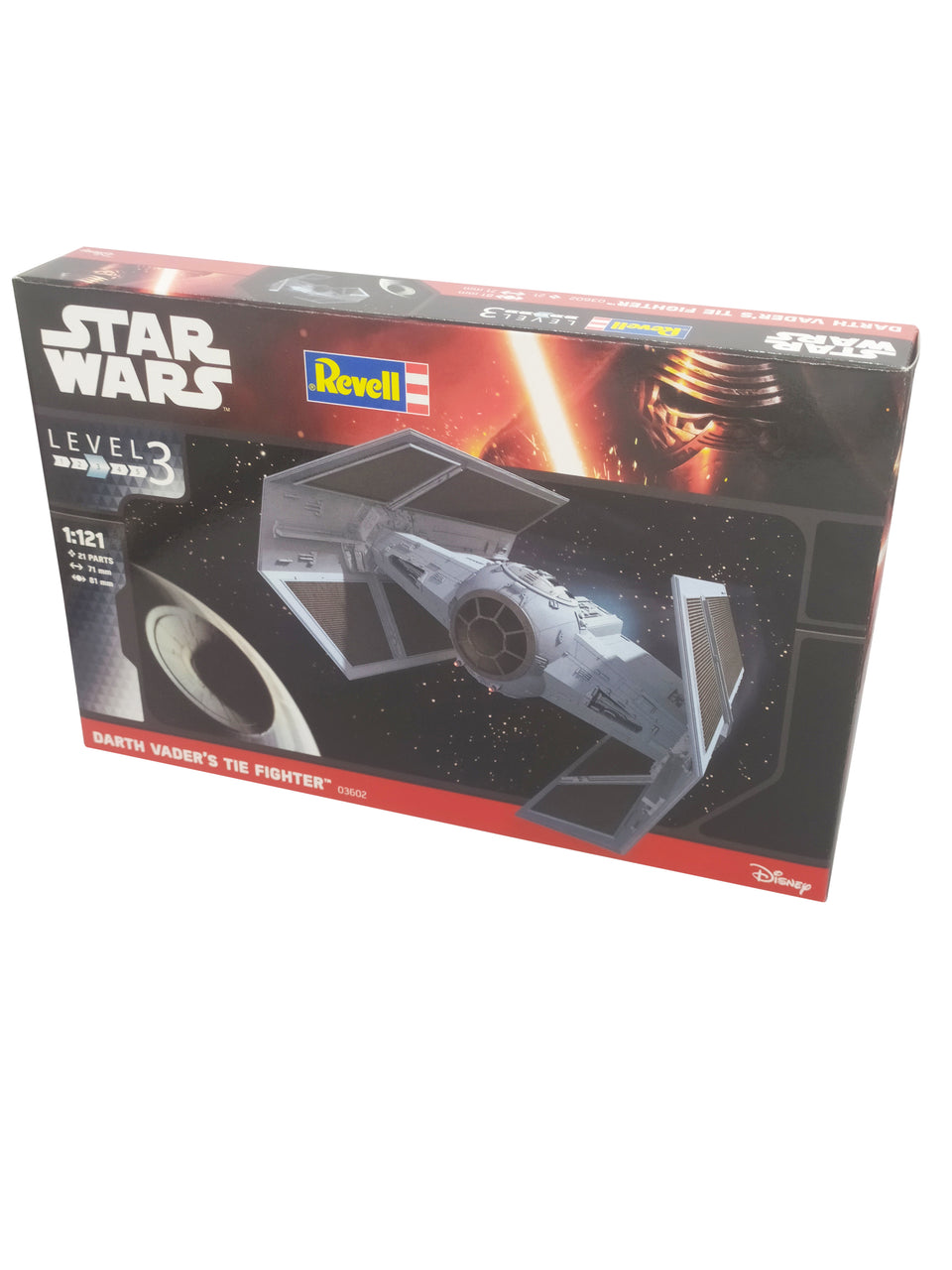 star wars revell level 3 darth's vader tie fighter