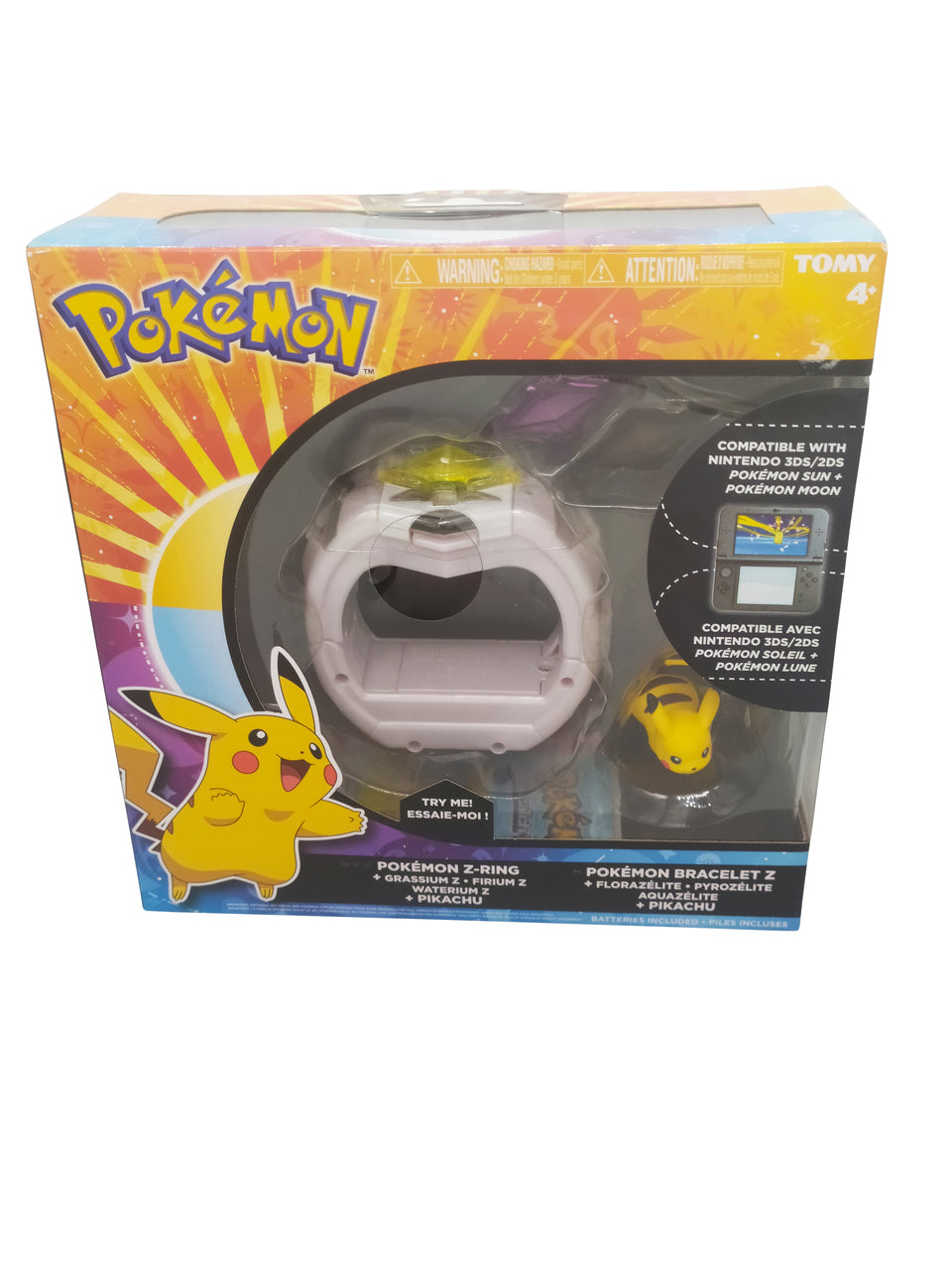pokemon z ring pikachu  - tomy