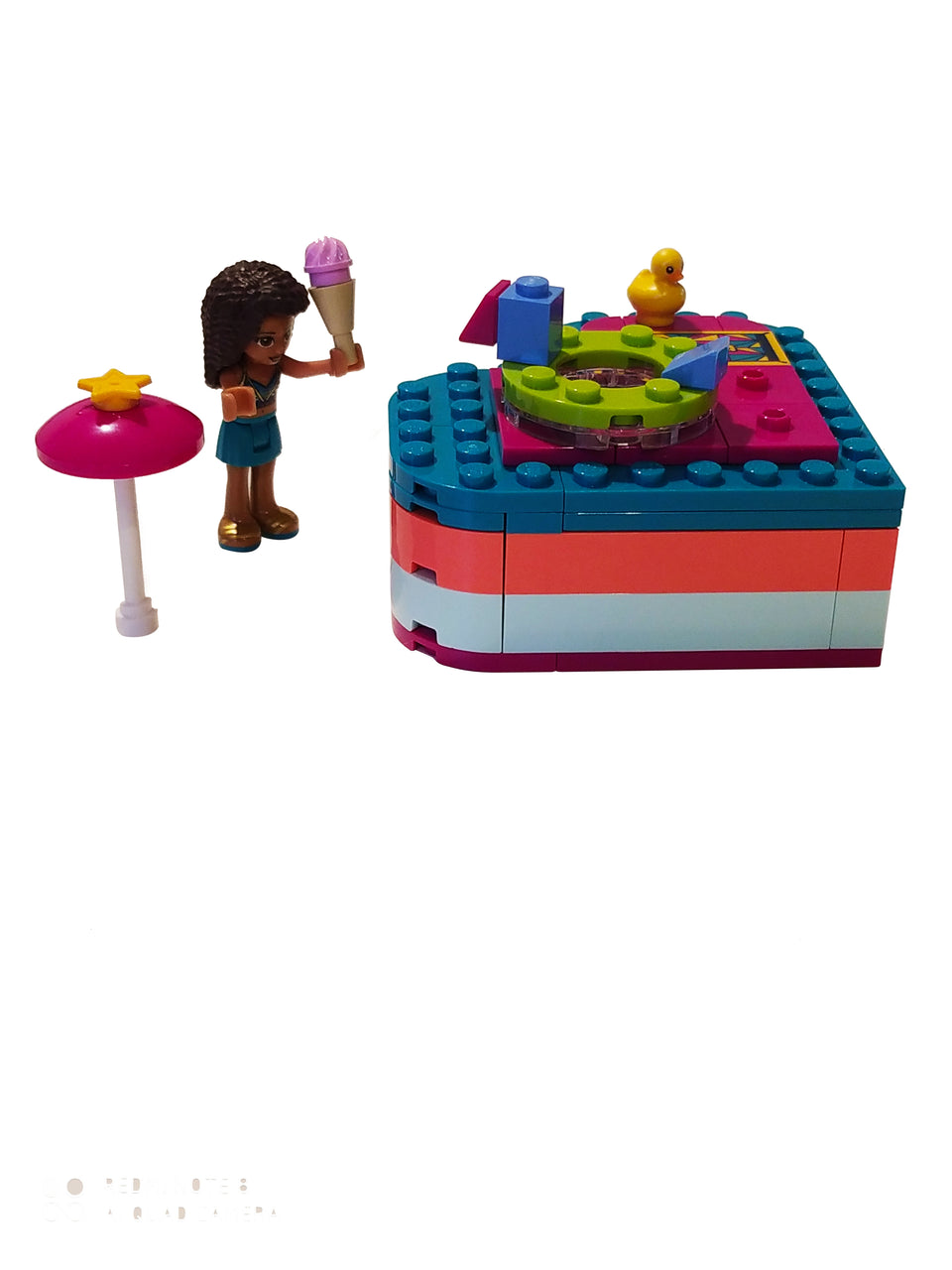 lego friends andrea heart box 41384