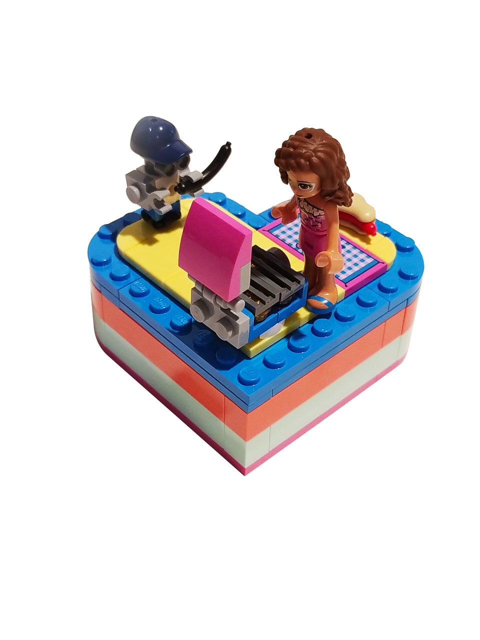 lego friends olivia heart box 41387