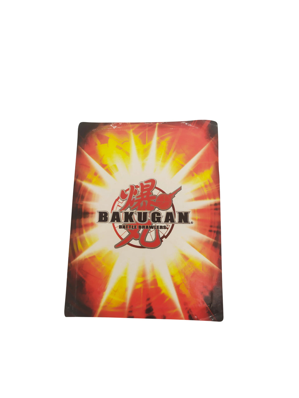 bakugan battle brawlers - silver shot - red card - 2011