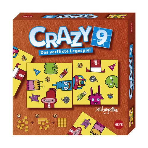 puzzle crazy 9 Creatures pic Heye 9 pieces