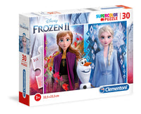 puzzle disney frozen 2 - 30 pcs - supercolor  - clementoni