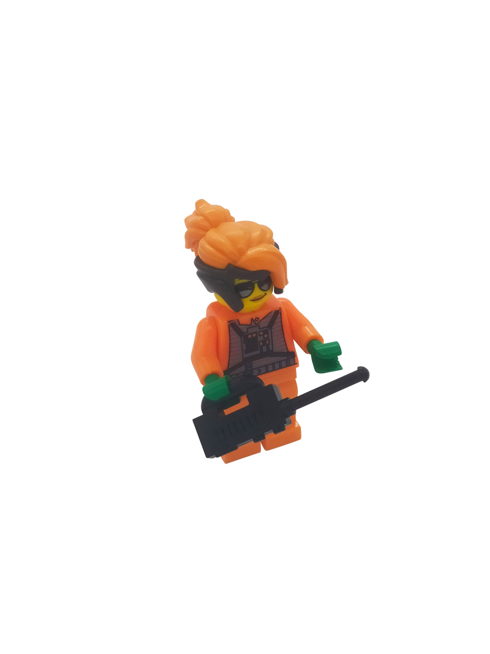 Lego figure with accessories