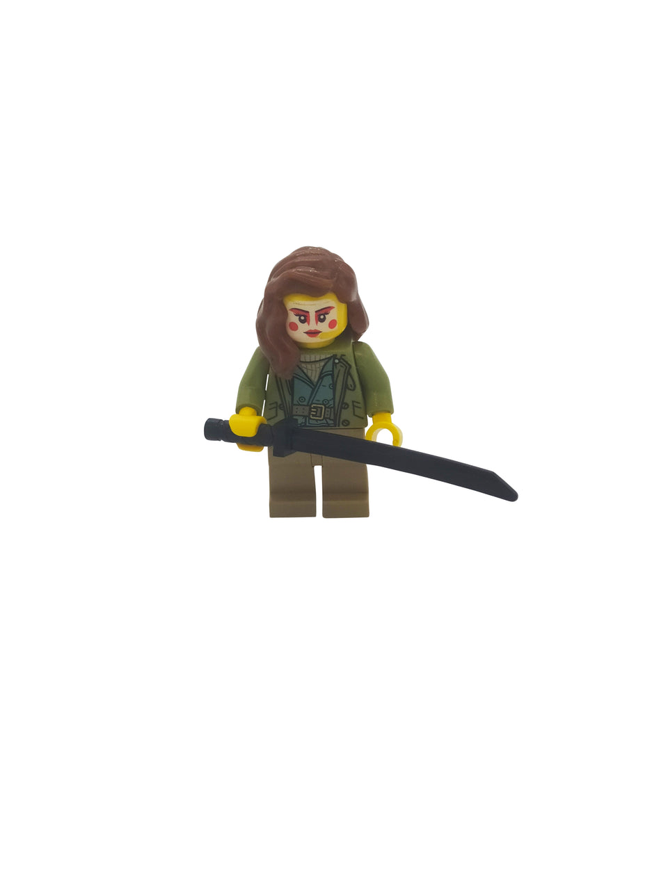 Lego Woman Warrior with sword