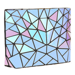 Baggies Blue Rainbow Geometric Diamond Sling Bag
