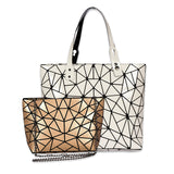 Baggies (Combo) White Diamond Tote + Gold Sling