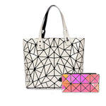 Baggies Black Diamond Tote + Rainbow Wallet