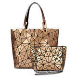 Baggies™ Diamond Tote + Gold Sling