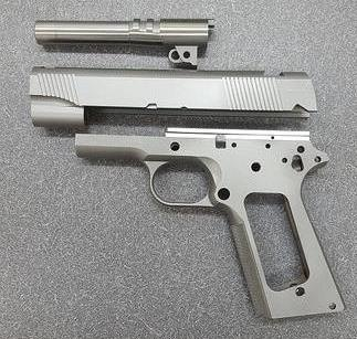 Premium Forged 1911 Gunsmith Combo, SS, Commander