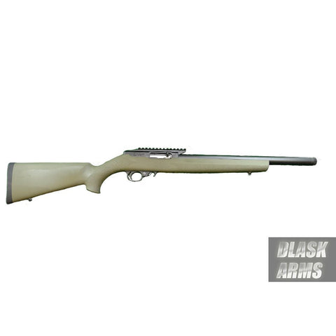 Basic DAR 22 .22LR with OD Green Hogue Stock 16.5""