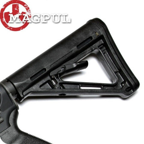 Magpul M.O.E. Carbine Butt Stock, Black, FDE & O.D.