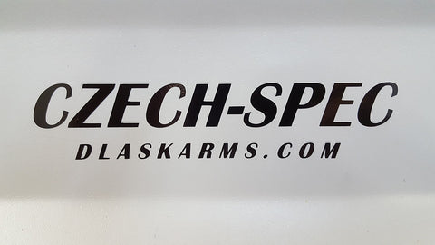 'Czech-Spec' Decal