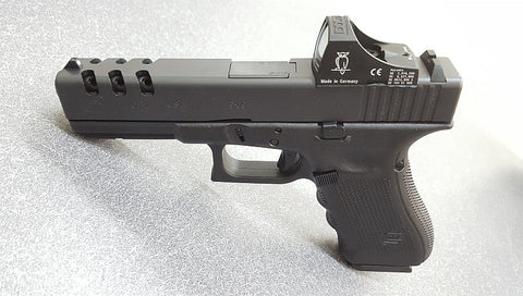 Glock G17, Gen 4, Ported w/ Doctor Sight III