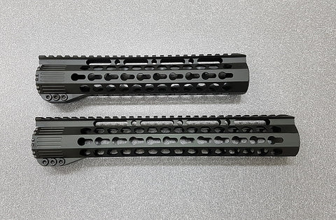 AR-15 Free Float Hand Guard, KeyMod, Various Lengths