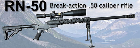 SERBU RN-50 .50 BMG NON RESTRICTED RIFLE