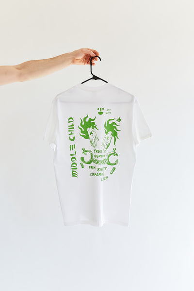 "Heavy Slime ""Corporate Lunch"" Short-Sleeve Tee"