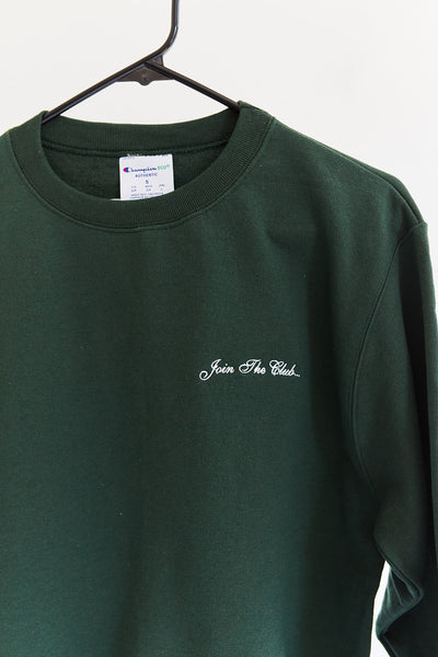 """Join The Club"" Long-Sleeve Crewneck Sweatshirt"