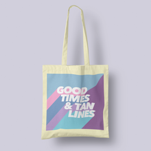 Load image into Gallery viewer, Good Times & Tan Lines Tote Bag