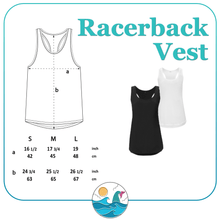 Load image into Gallery viewer, Good Times & Tan Lines Women's Racerback Vest - Mermaid&Wild